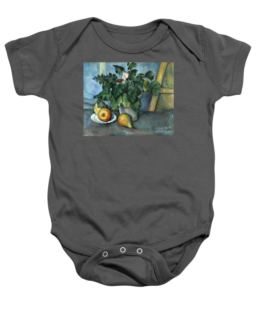 1890 Baby Onesie featuring the photograph Cezanne: Still Life, C1888 by Granger