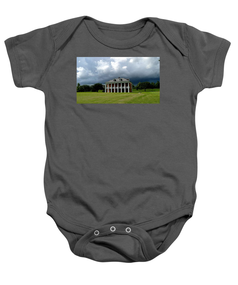 Chalmette Baby Onesie featuring the photograph Chalmette Battlefield 2 by Angie Covey