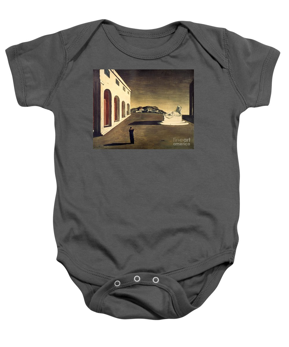 1913 Baby Onesie featuring the photograph Chirico: Melancolie, 1913 by Granger