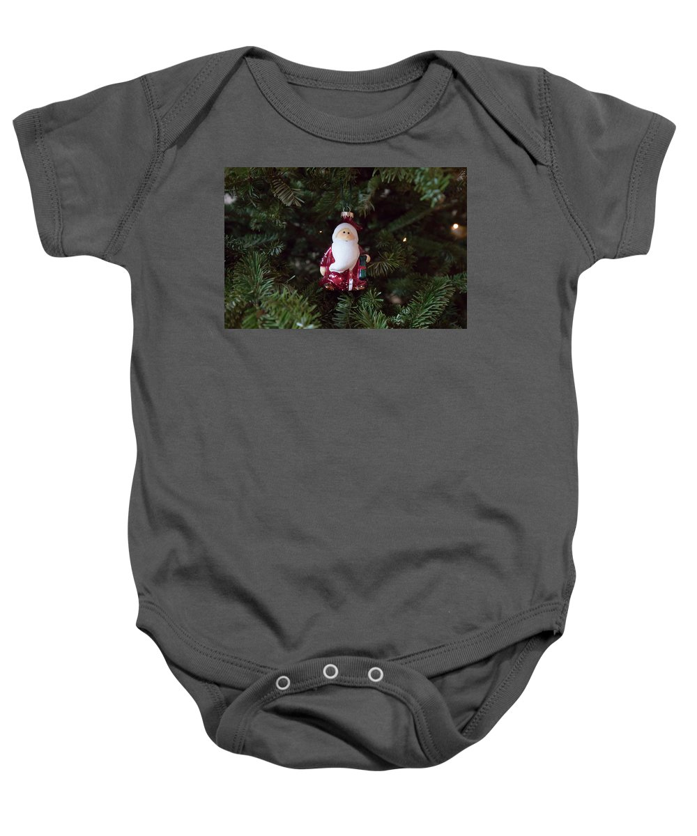 Christmas Baby Onesie featuring the photograph Christmas 7 by David Stasiak