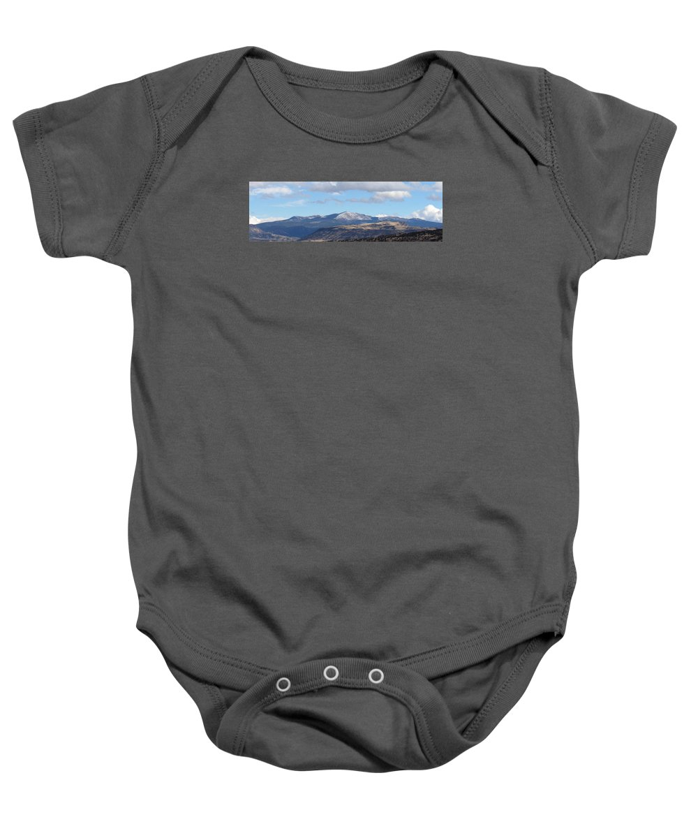 Cibola New Mexico North American Landscapes New Mexico Landscapes High Desert Mountains Wild West Landscapes Western Landscapes Desert Landscapes Baby Onesie featuring the photograph Cibola Mountains by Joshua Bales