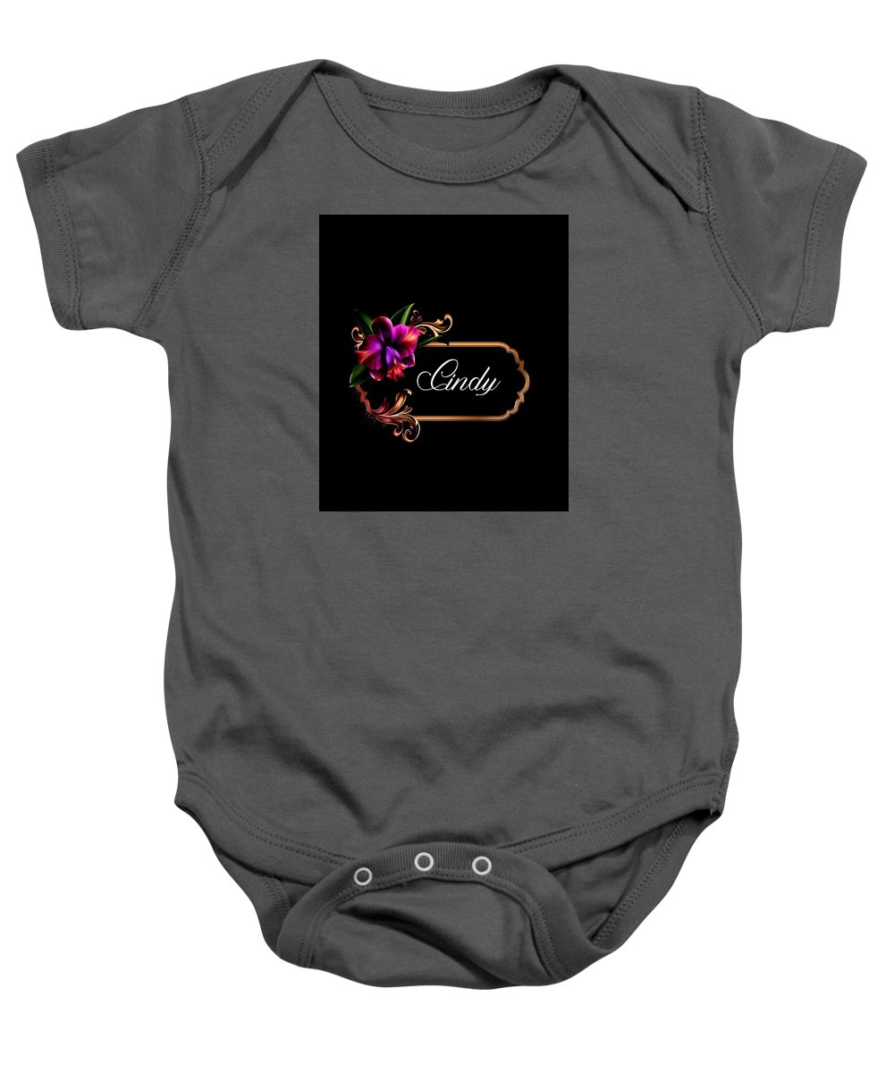 Cindy Baby Onesie featuring the photograph Cindy by G Berry