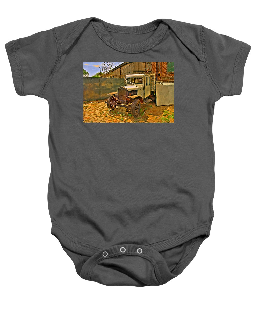 Cars Baby Onesie featuring the photograph Classic by Francisco Colon