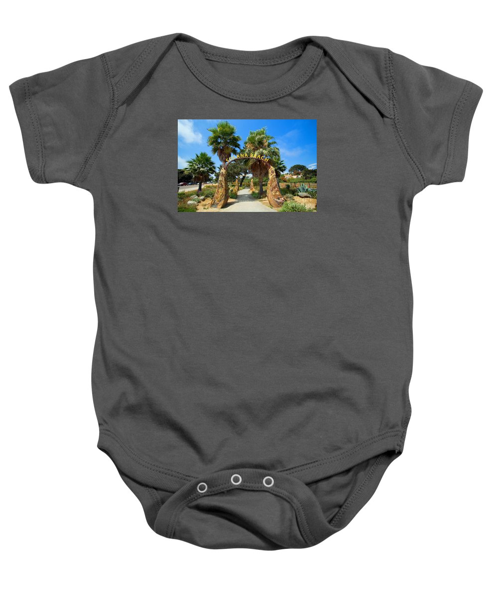 Photography Baby Onesie featuring the photograph Coastal Rail Trail by Daniel Knighton