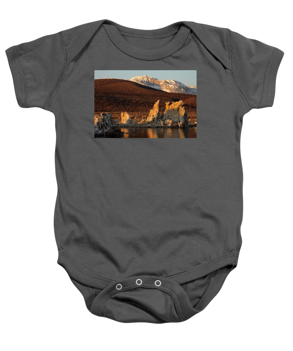 Landscape Baby Onesie featuring the photograph Cocoa by Linda Arnn Arteno