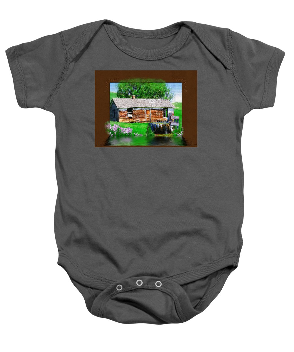 Collage Baby Onesie featuring the photograph Collage by Susan Kinney
