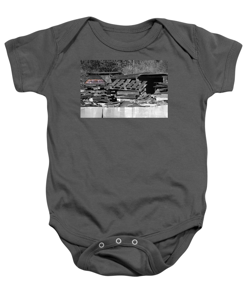 College Baby Onesie featuring the photograph College Bound by Gary Adkins