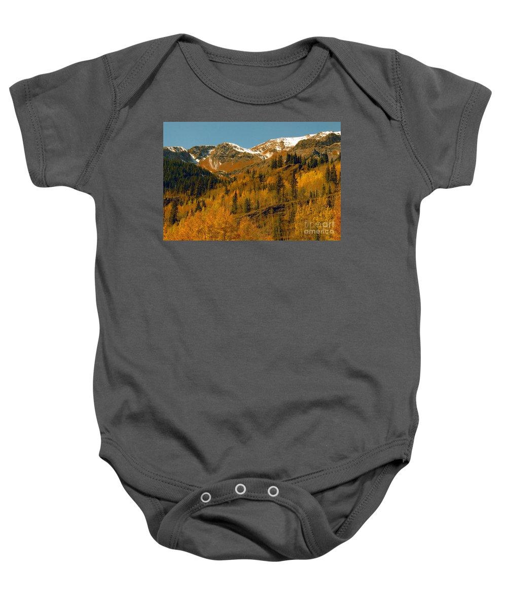 Colorado Baby Onesie featuring the photograph Colorado by David Lee Thompson