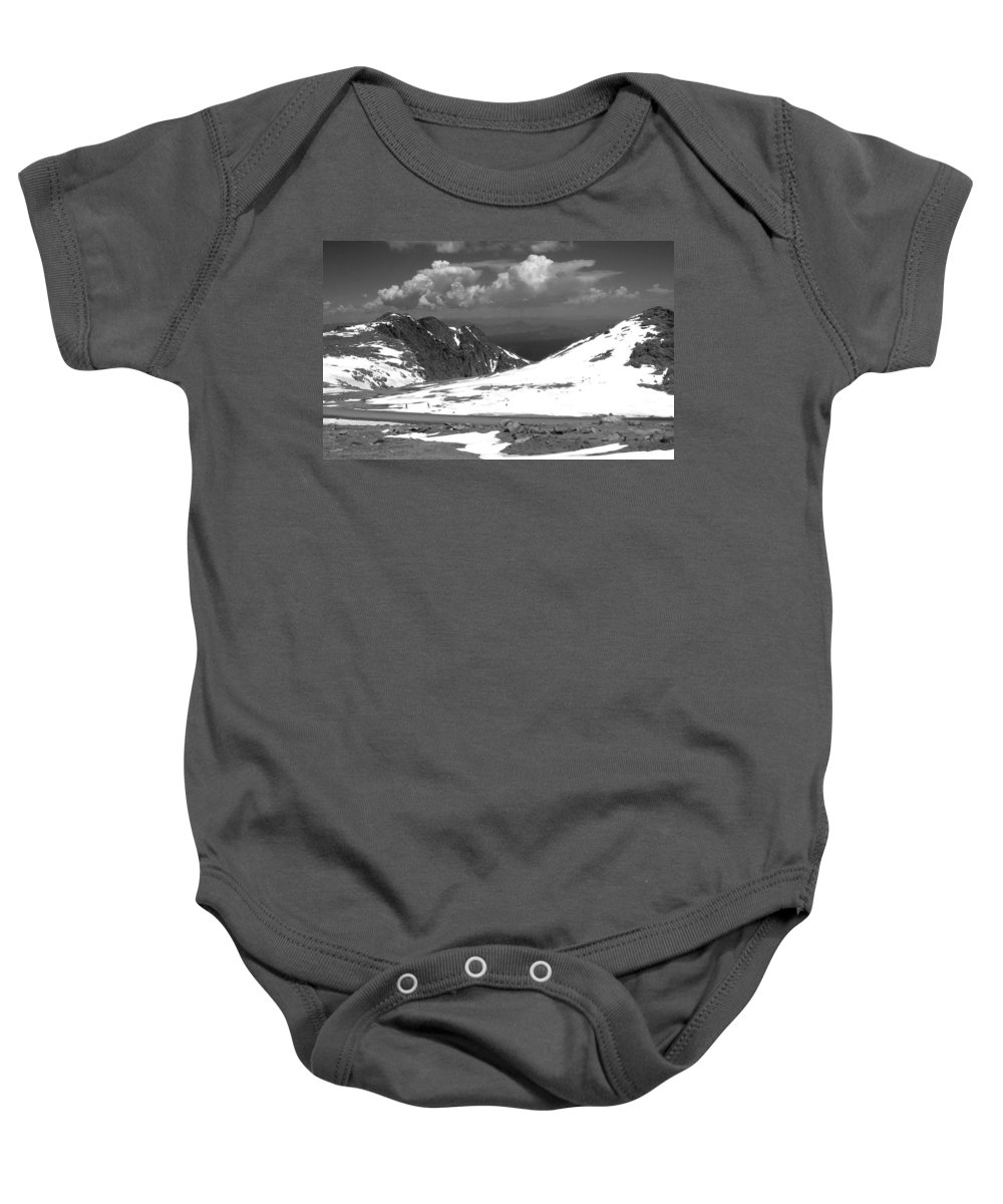Colorado Baby Onesie featuring the photograph Colorado Mountians 1 by Anita Burgermeister
