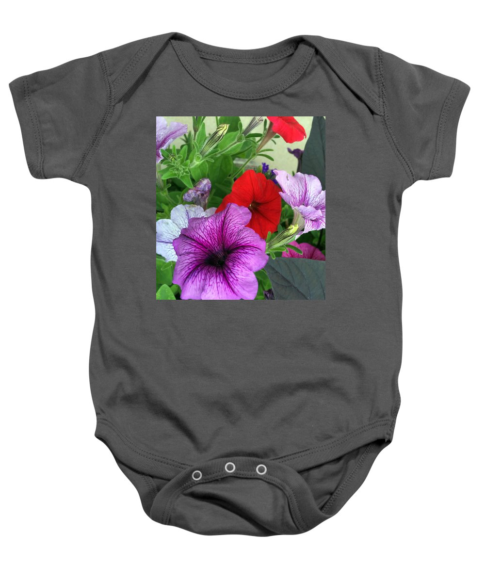 Colorful Palette Baby Onesie featuring the photograph Colorful Palette by James Pinkerton
