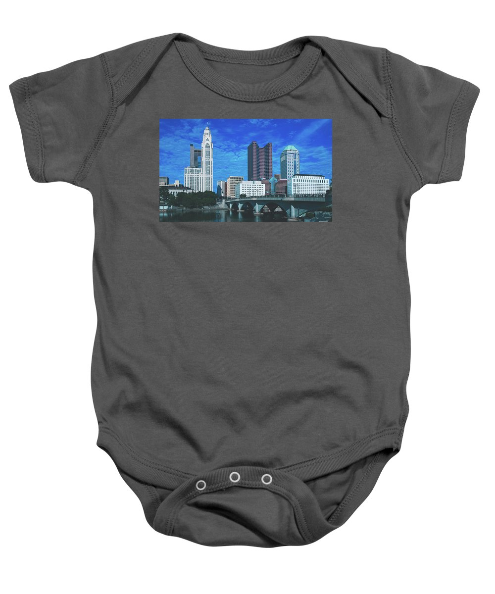 Columbus Baby Onesie featuring the photograph Columbus Ohio by Library Of Congress
