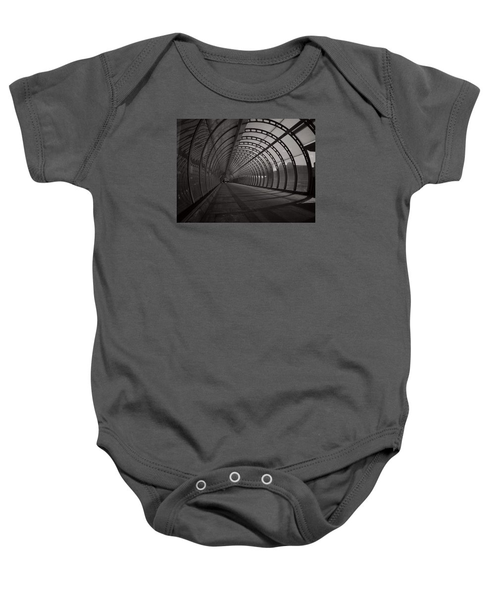 Uk Baby Onesie featuring the photograph Concentric by Douglas Stratton