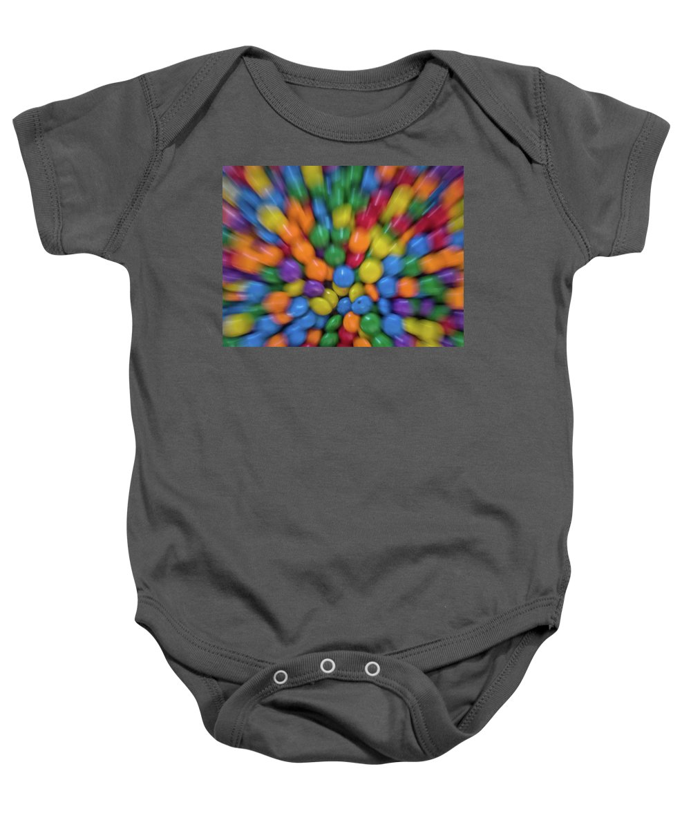 Confetti Baby Onesie featuring the photograph Confetti by Enio Godoy