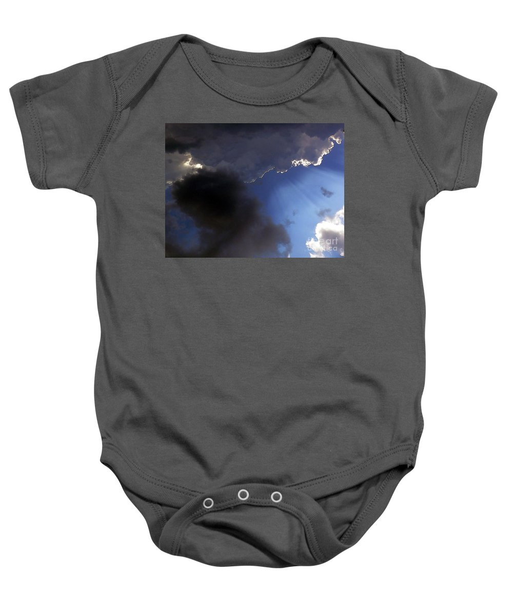 Cloud Baby Onesie featuring the photograph Cool Clouds by Al Powell Photography USA