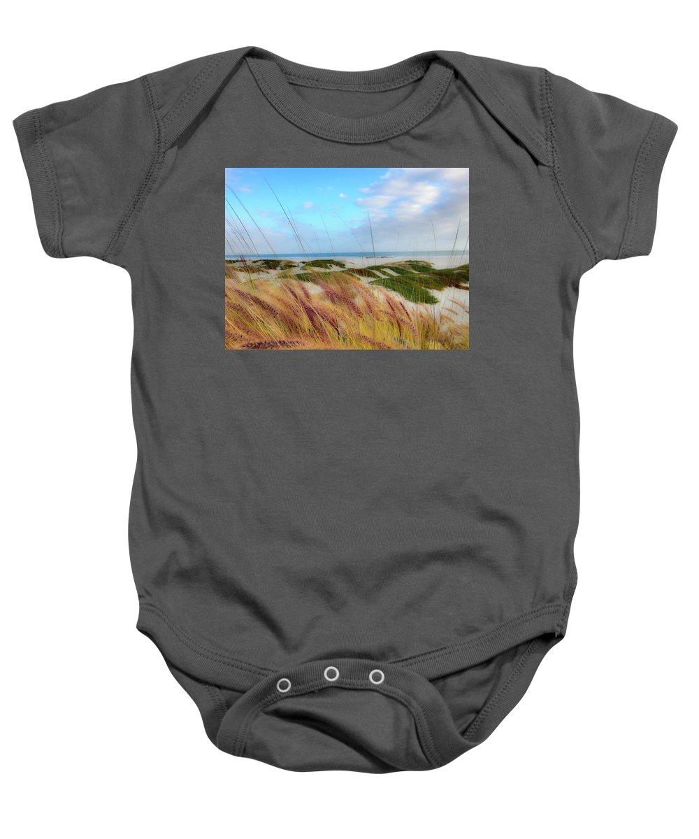 Coronado Baby Onesie featuring the photograph Coronado Island by Stephen Settles