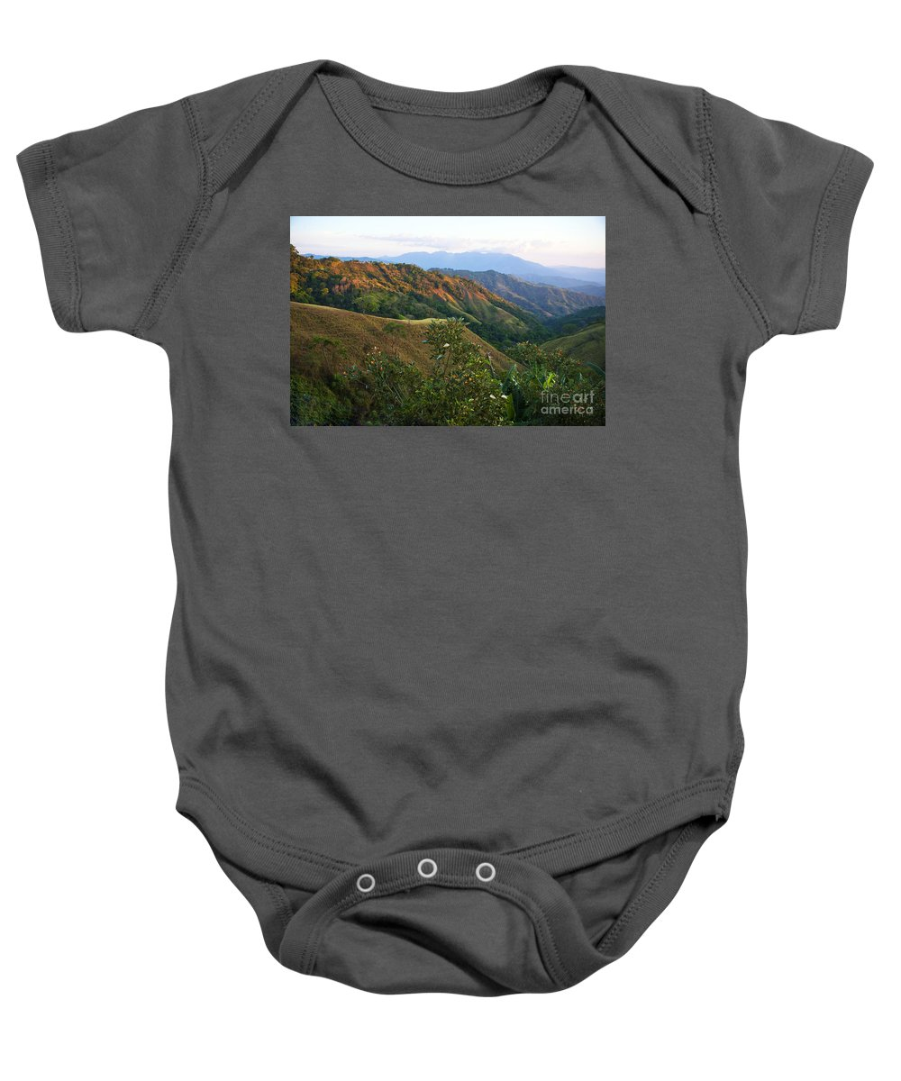 Costa Rica Baby Onesie featuring the photograph Costa Rica Vista II by Madeline Ellis