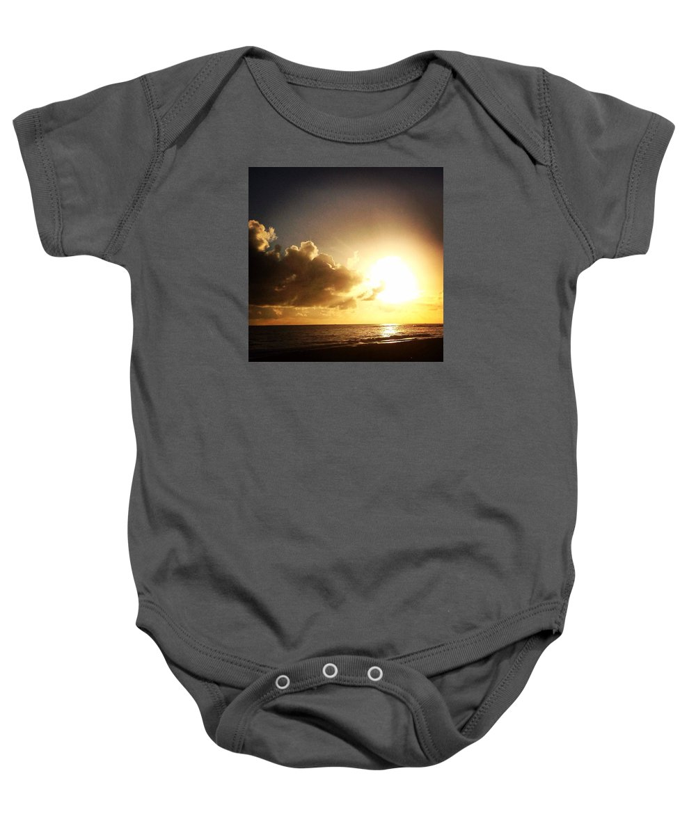 Baby Onesie featuring the photograph Cynthia Cell by Cynthia Pittmann