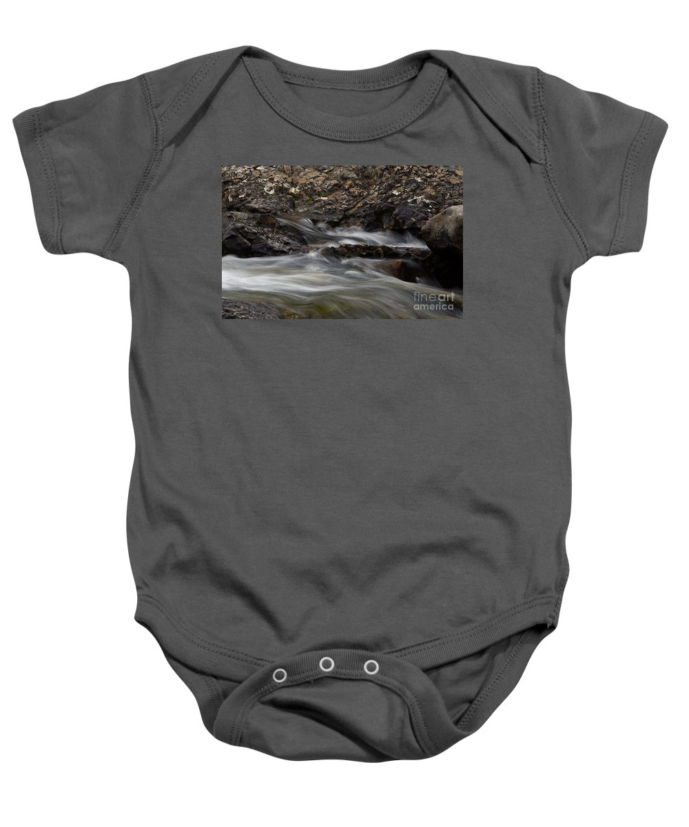 Water Baby Onesie featuring the photograph Dancing Waters 5 by Bob Christopher
