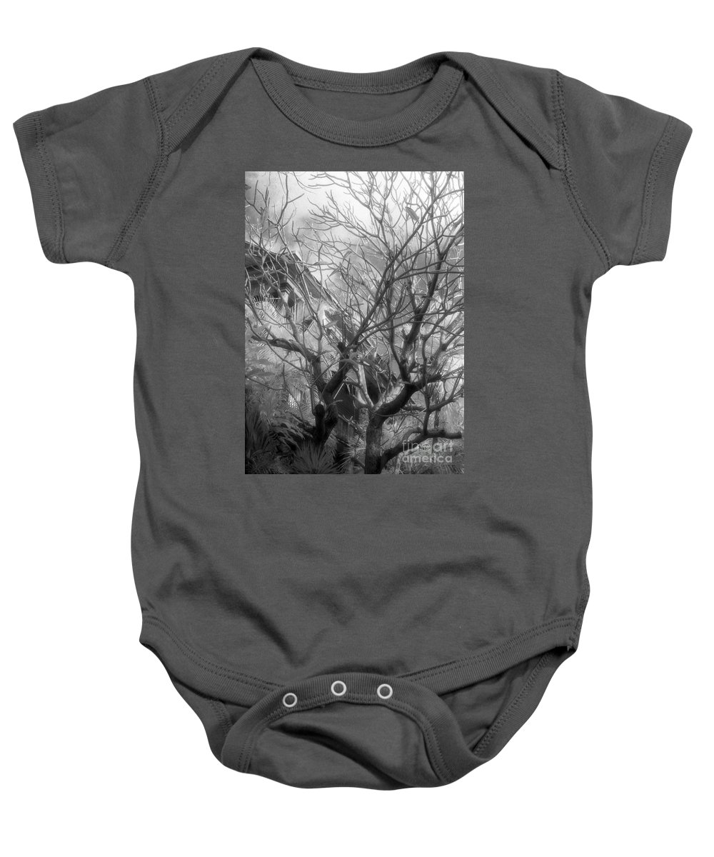 Infrared Photography Baby Onesie featuring the photograph Day Dream by Richard Rizzo
