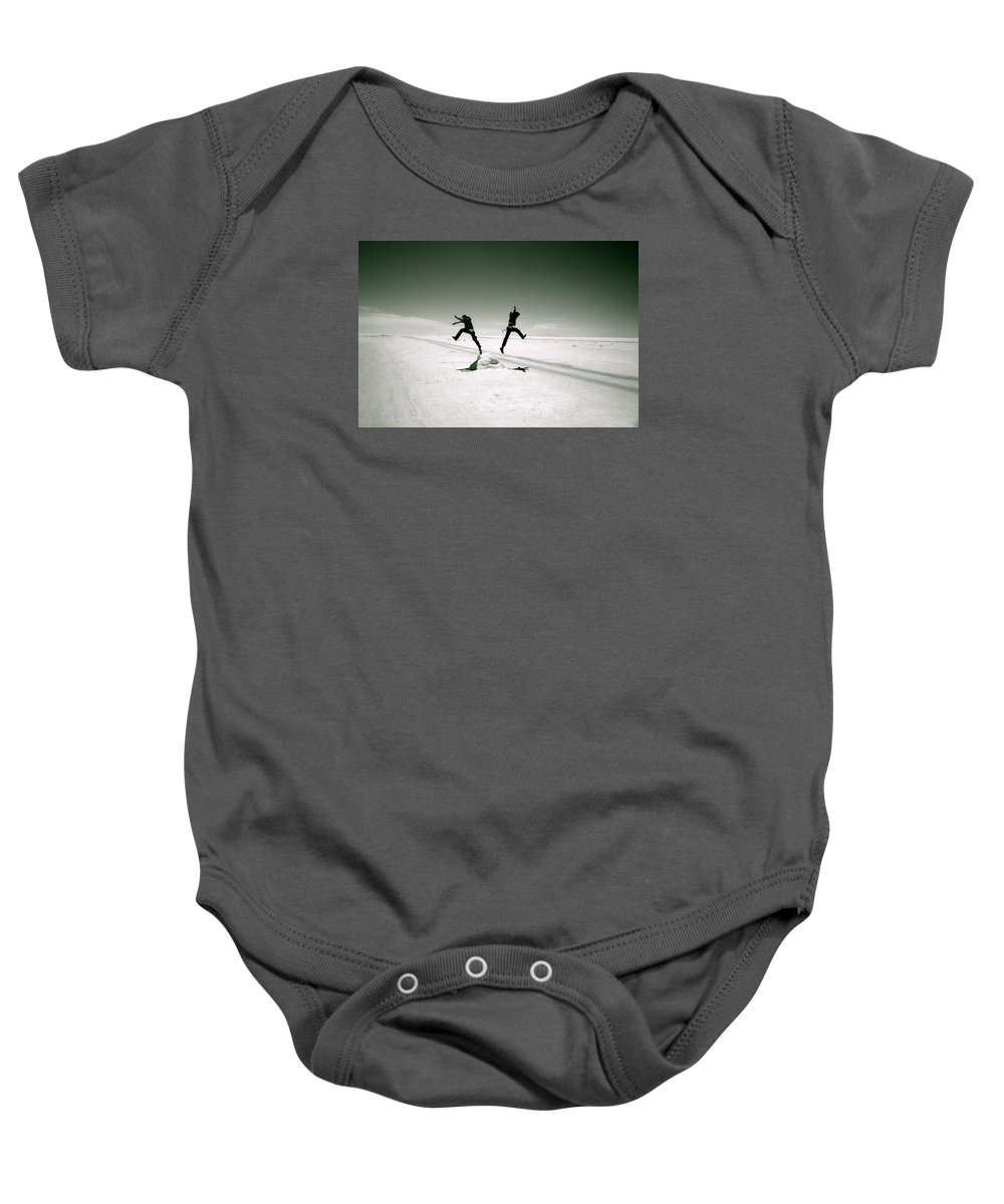 Bolivia Baby Onesie featuring the photograph Divide And Conquer by Valerie Rosen