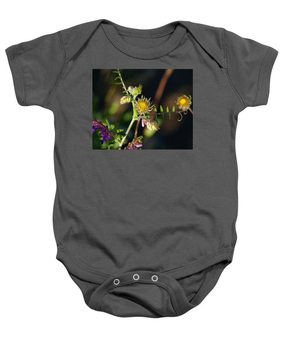 Nature Baby Onesie featuring the photograph Divine Natural Creations by Ben Upham III