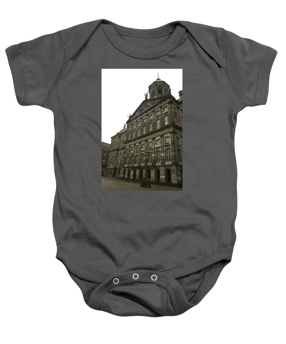 Landscape Baby Onesie featuring the photograph Dnrh1107 by Henry Butz