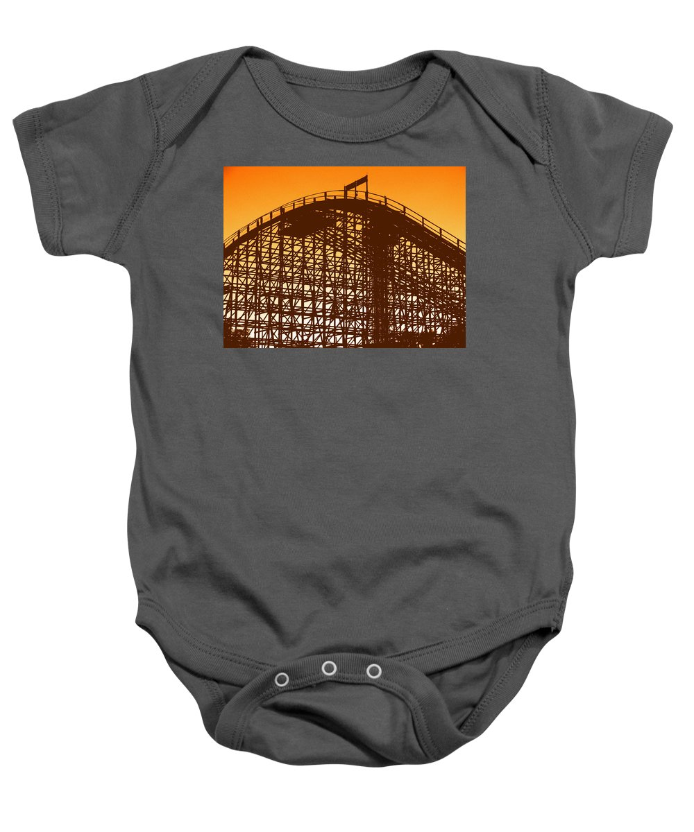 Double Baby Onesie featuring the photograph Double Down by Ed Smith