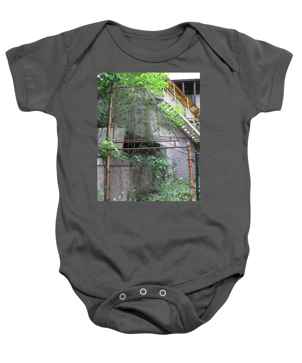 Photo Baby Onesie featuring the photograph Down Near The River 1 by John Vincent Palozzi