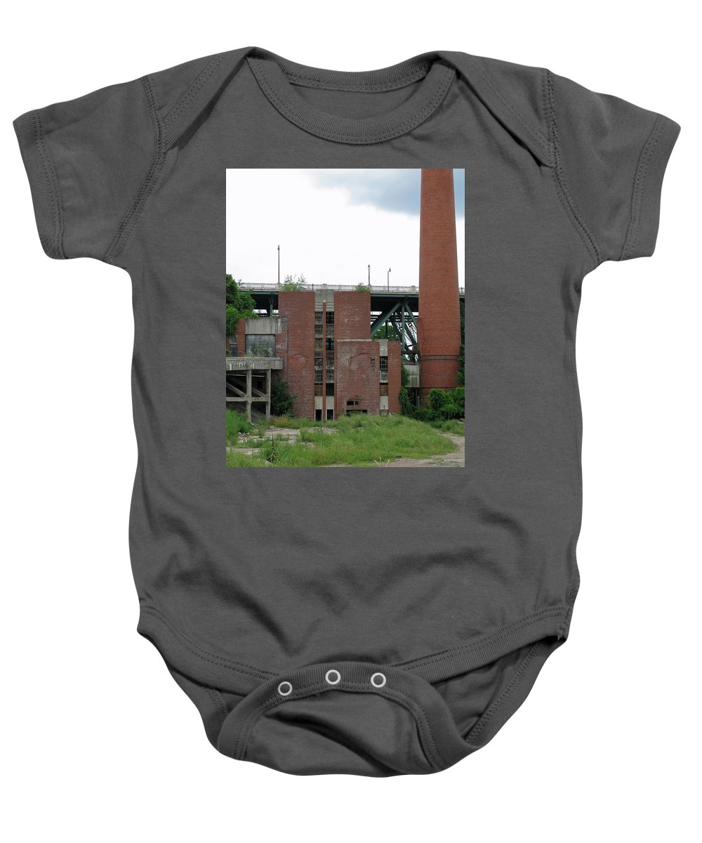 Photo Baby Onesie featuring the photograph Down Near The River 2 by John Vincent Palozzi