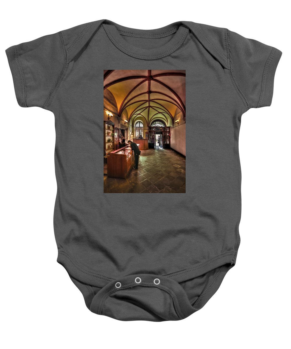 History Baby Onesie featuring the photograph Down The History Lane by Evelina Kremsdorf