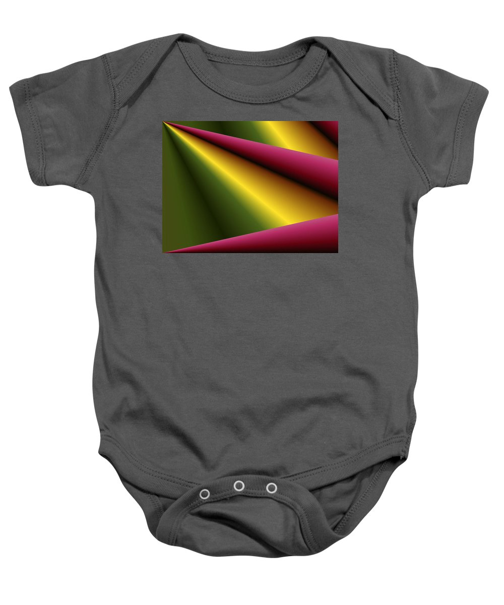 Drape Baby Onesie featuring the photograph Draped by Kristin Elmquist