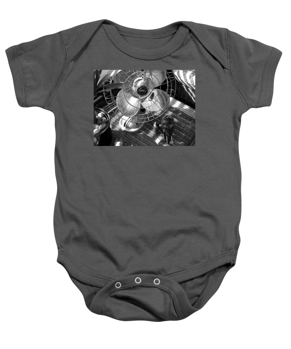 Still Life Baby Onesie featuring the photograph Elephant Walk by Charles Stuart