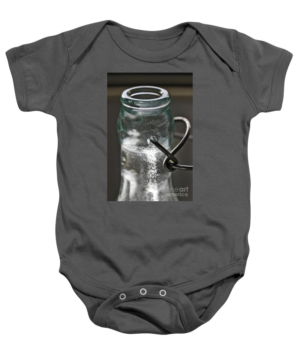 Bottle Baby Onesie featuring the photograph Elixir by Stephen Mitchell
