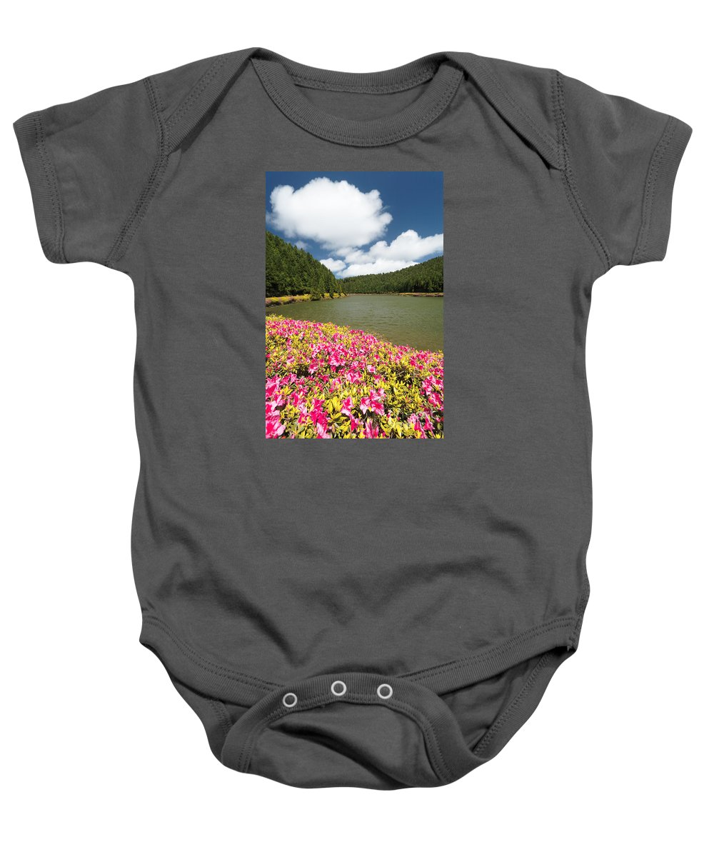 Portugal Baby Onesie featuring the photograph Empadadas Lakes II by Gaspar Avila