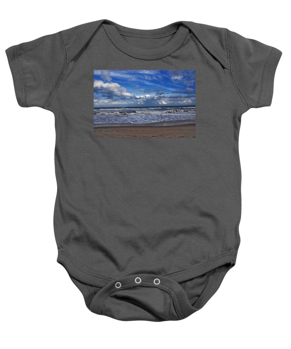 Ocean Baby Onesie featuring the photograph Endless Ocean by Susanne Van Hulst