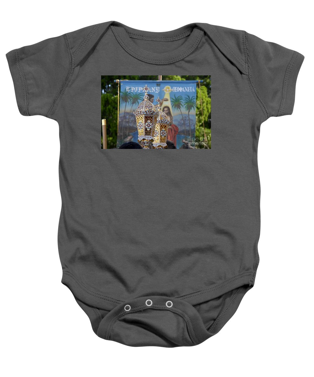 Epiphany Baby Onesie featuring the photograph Epiphany Celebration by David Lee Thompson