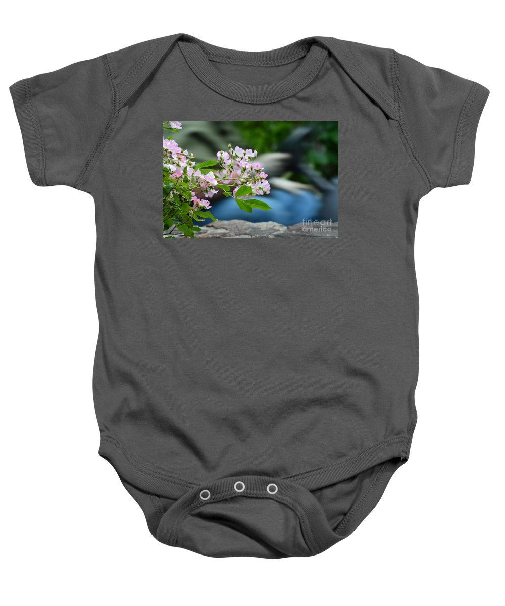 Especially For You Baby Onesie featuring the photograph Especially For You by Maria Urso