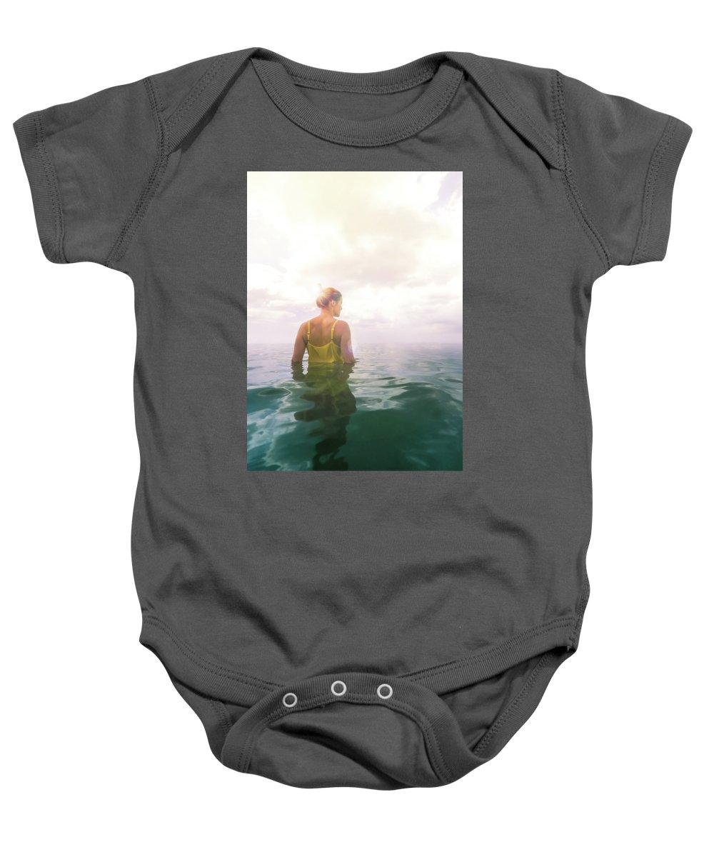 Sea Photographs Baby Onesies