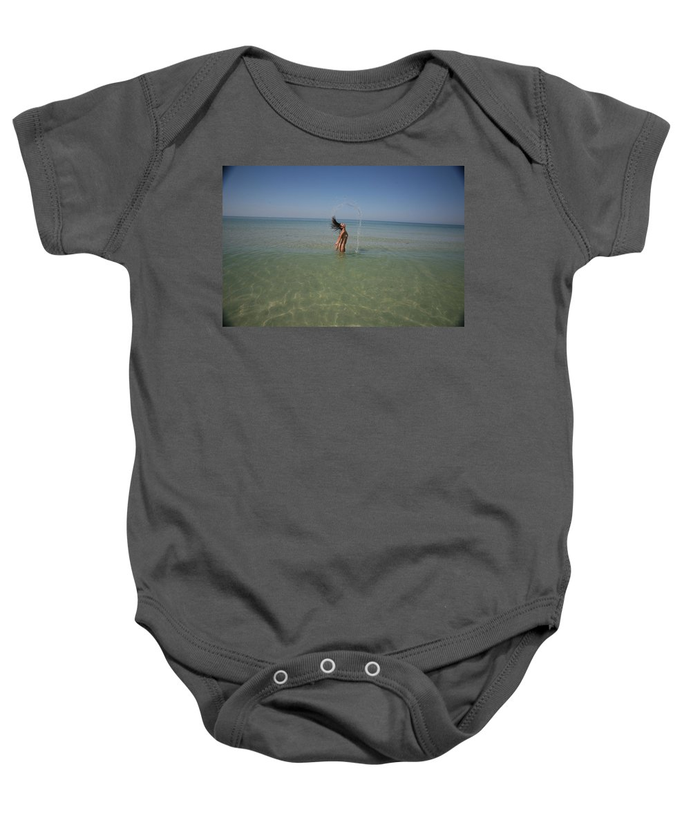 Everglades City Everglades City Glamour  Everglades City Photographer  Everglades City Glamorous Photographer Lucky Cole  Everglades City Lucky Cole Lucky Cole Everglades City Beauty  Everglades City Beauty Photographer Baby Onesie featuring the photograph Everglades City 933 by Lucky Cole