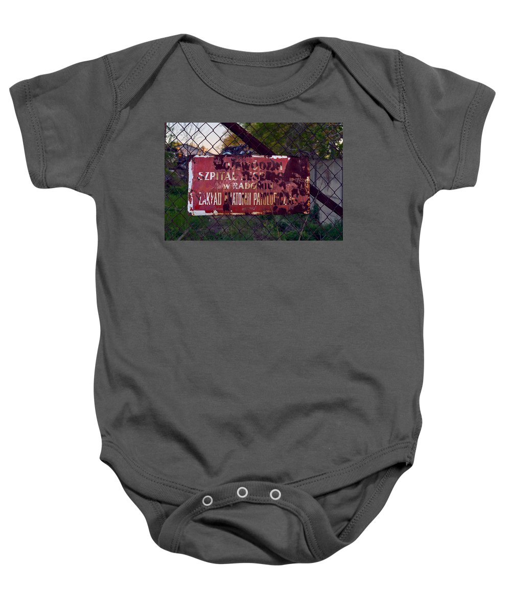 Fading Away Baby Onesie featuring the photograph Fading Away by Tgchan