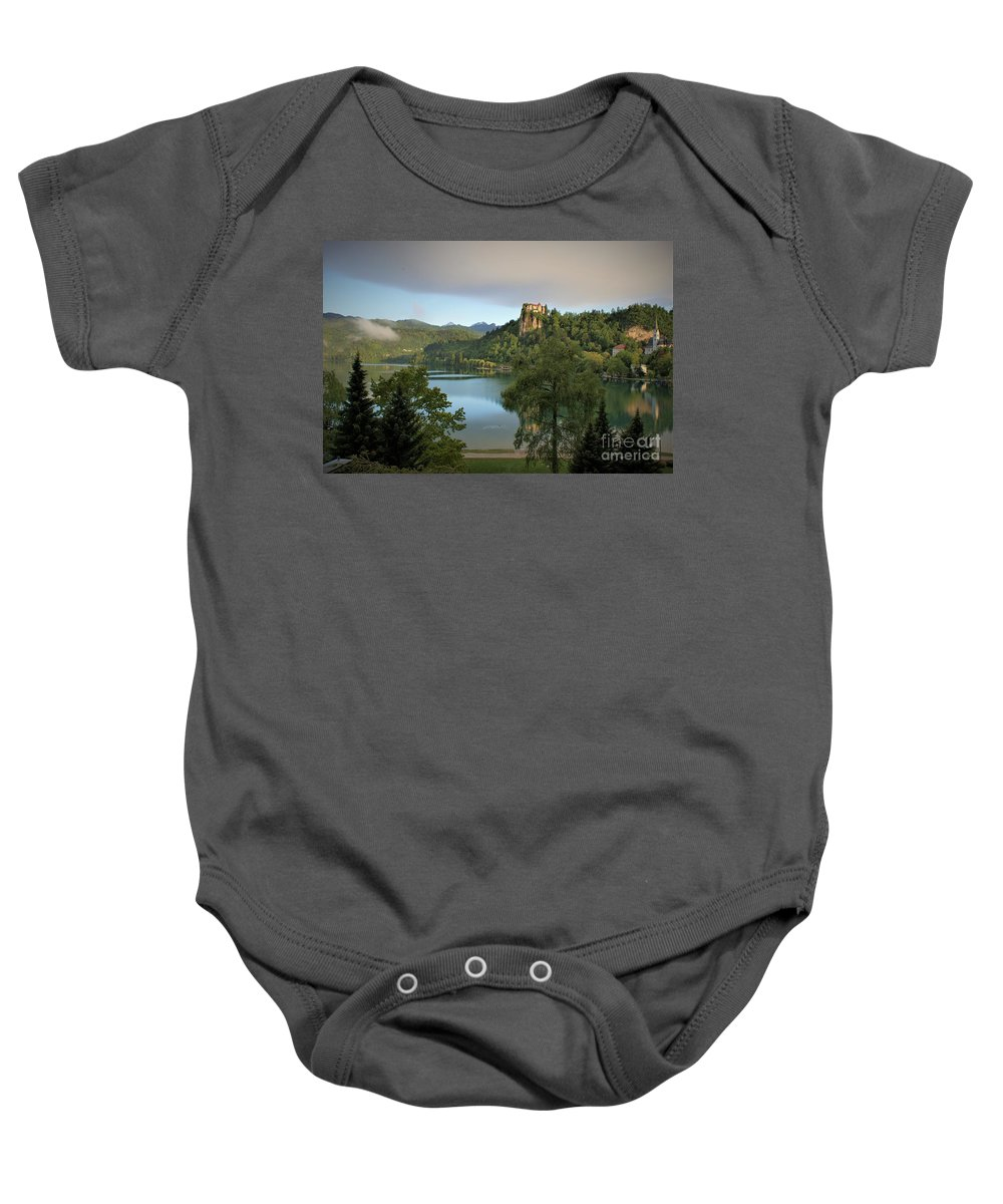 Landscape Baby Onesie featuring the photograph Fairy Tales Do Come True by Bob Martin