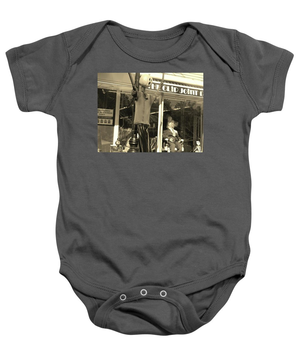 Salem In The Fall Baby Onesie featuring the photograph Fall In New England by Traci Barnes