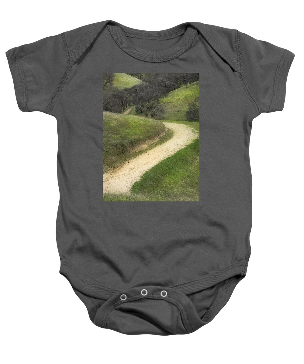 Landscape Baby Onesie featuring the photograph February Green by Karen W Meyer