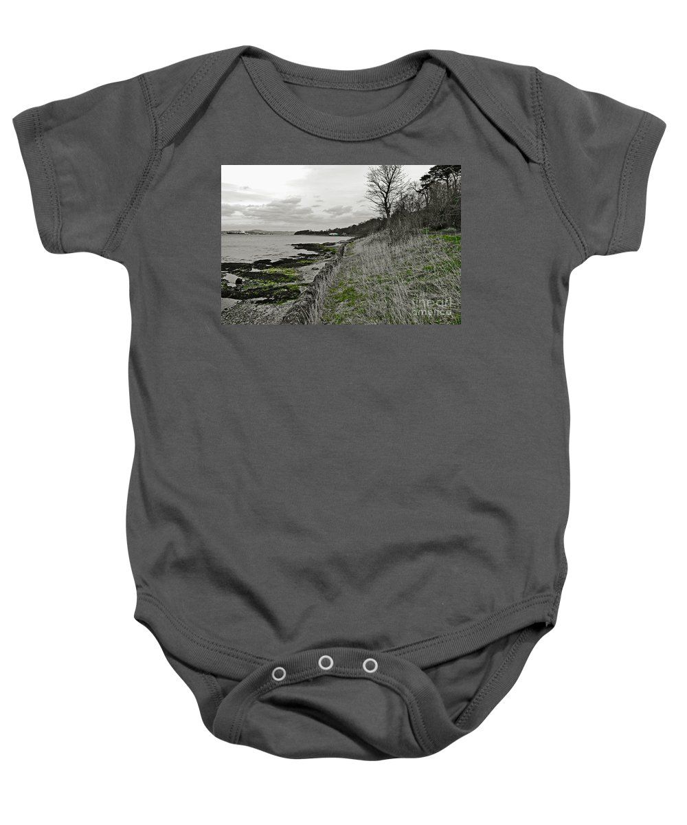 Landscape Baby Onesie featuring the photograph First Week Of Spring. by Elena Perelman