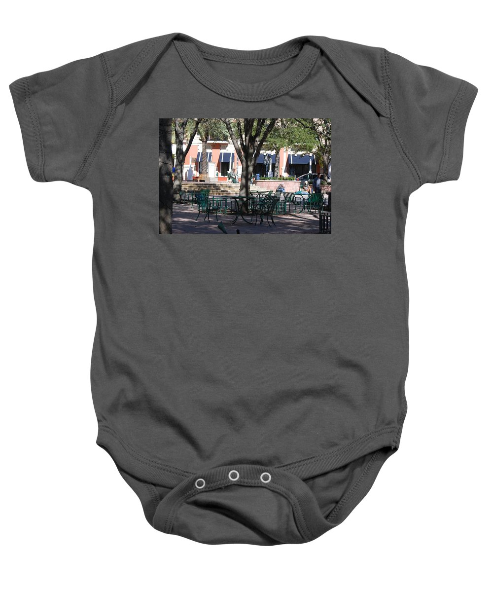 Park Baby Onesie featuring the photograph Flagler Park by Rob Hans