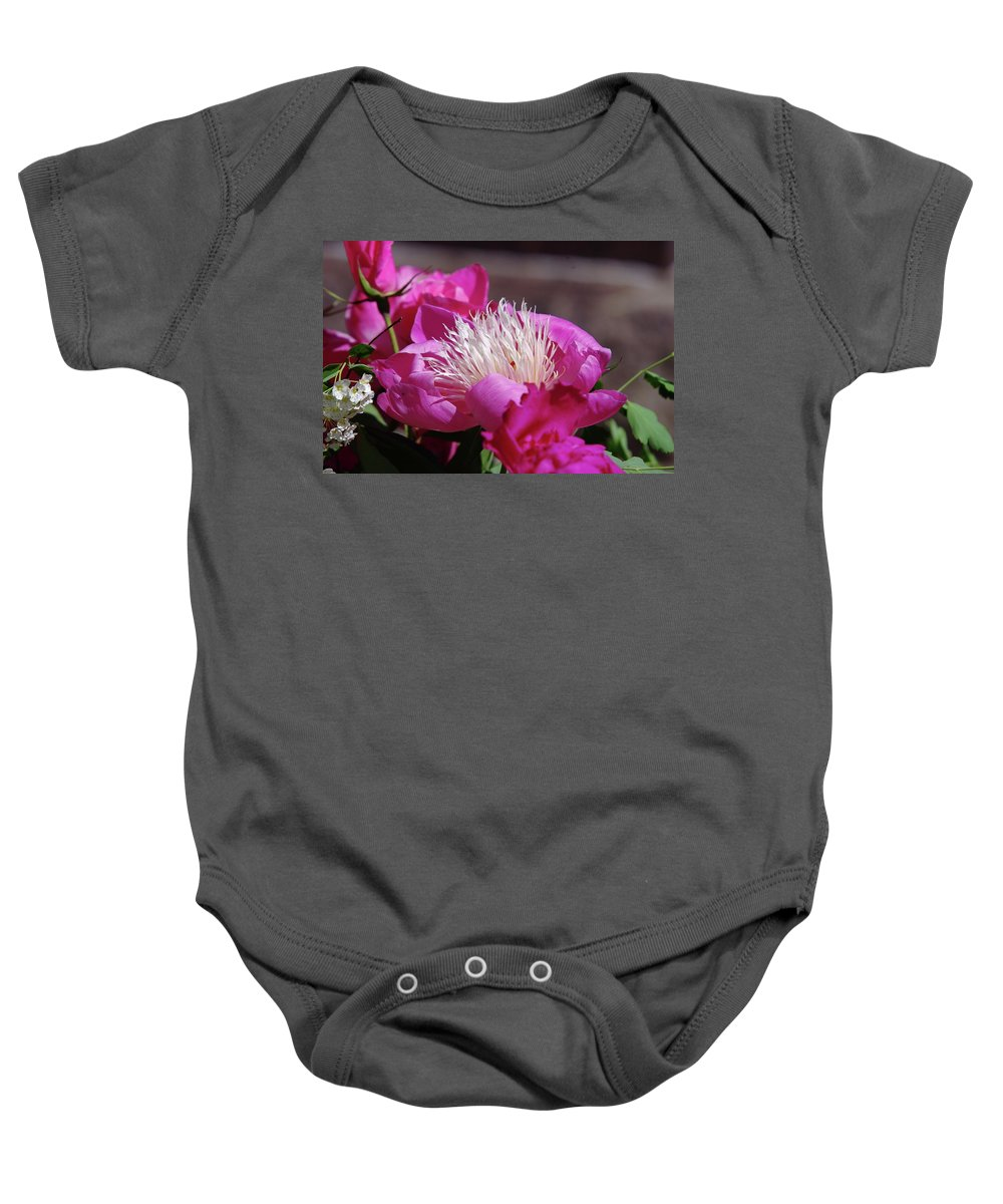 Flowers Baby Onesie featuring the photograph Flower by Jeff Swan