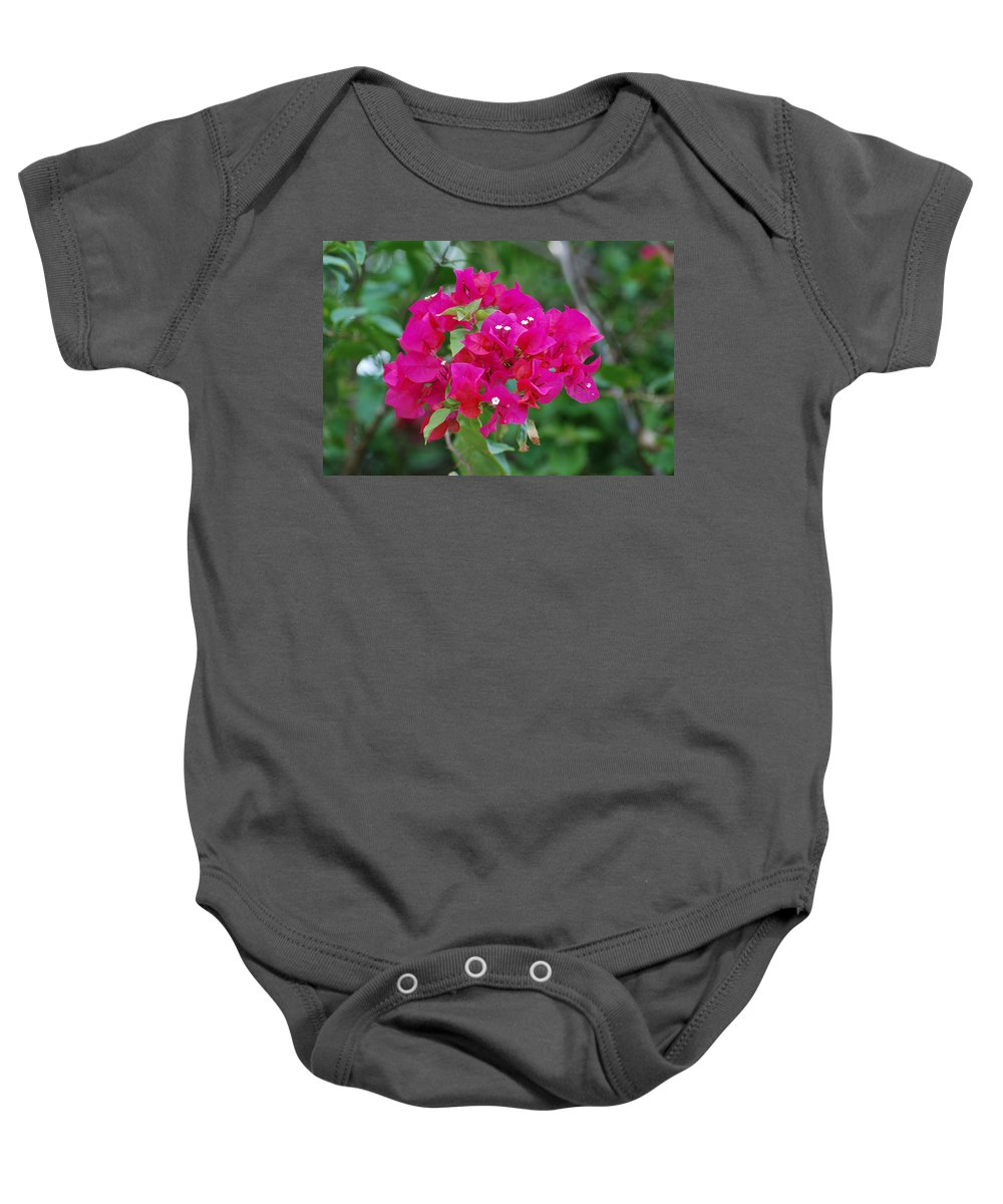 Flowers Baby Onesie featuring the photograph Flowers by Rob Hans