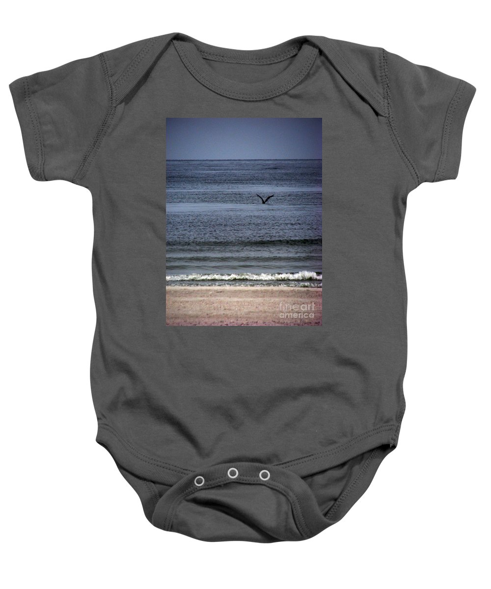 Photography Baby Onesie featuring the photograph Food by Amanda Barcon