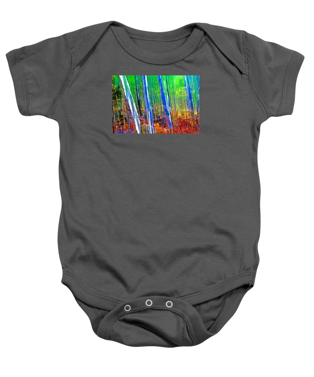 Forest Baby Onesie featuring the photograph Forest Magic by Bill Morgenstern