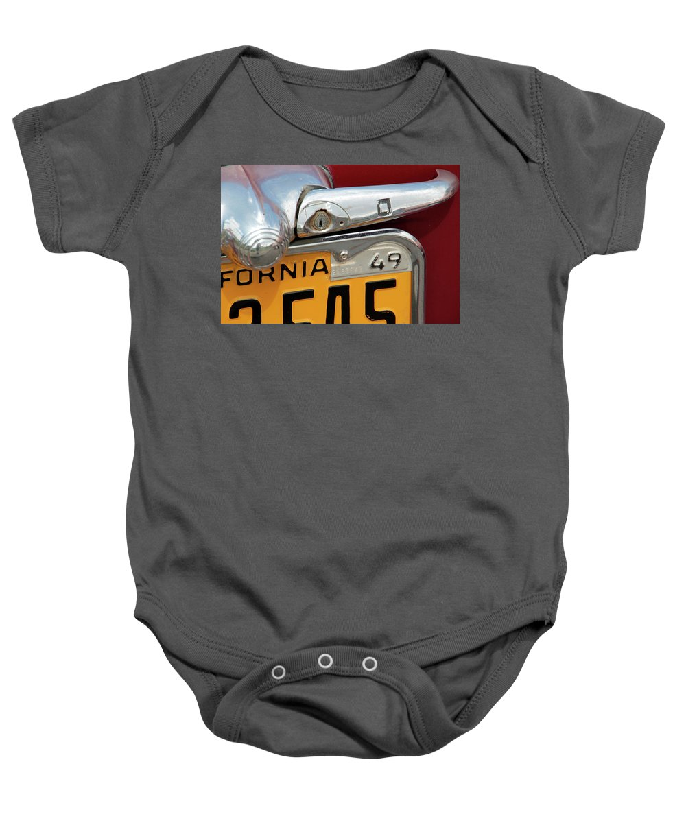 Antique Baby Onesie featuring the photograph Forty Niner by Pauline Darrow